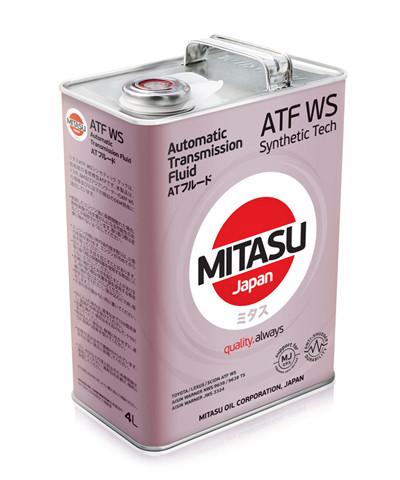 Трансмиссионное масло MITASU Low Viscosity ATF WS 100% Synthetic  (for TOYOTA) 4 л (MJ-325-4-WS)