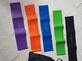 Фитнес резинки 5 шт, петли сопротивления Sunlin Sport, фото 3