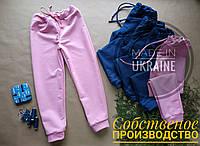 Дитячі спортивні штани / детские спортивные штаны. розовые штаны GIRL, детская одежда.