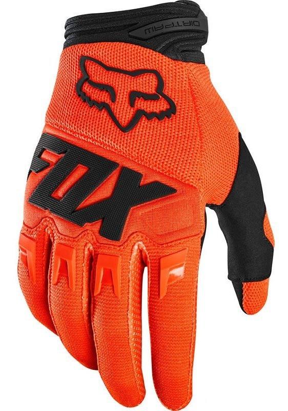 Мотоперчатки FOX DIRTPAW Race Fluor Orange L