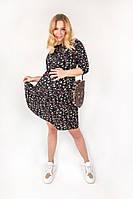 Платье с принтом для беременных и кормящих мам 2008 0003, фото 1