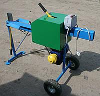 Дровокол реечный 380 В, мощность двигателя 1.5 кВт