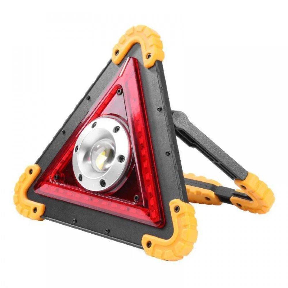 Аварийный аккумуляторный прожектор W-837 Черный (RI0603)