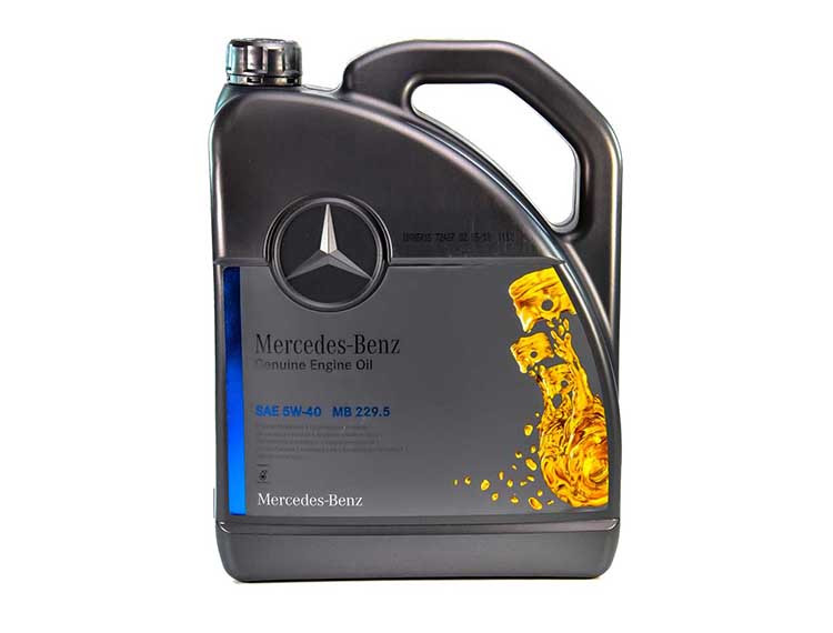 Моторное масло Mercedes-Benz PKW-Synthetic MB 229.5 5W-40 5 л (000989920213)
