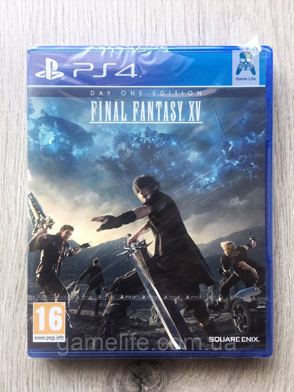Final Fantasy XV Day One Edition (рус. суб.) PS4