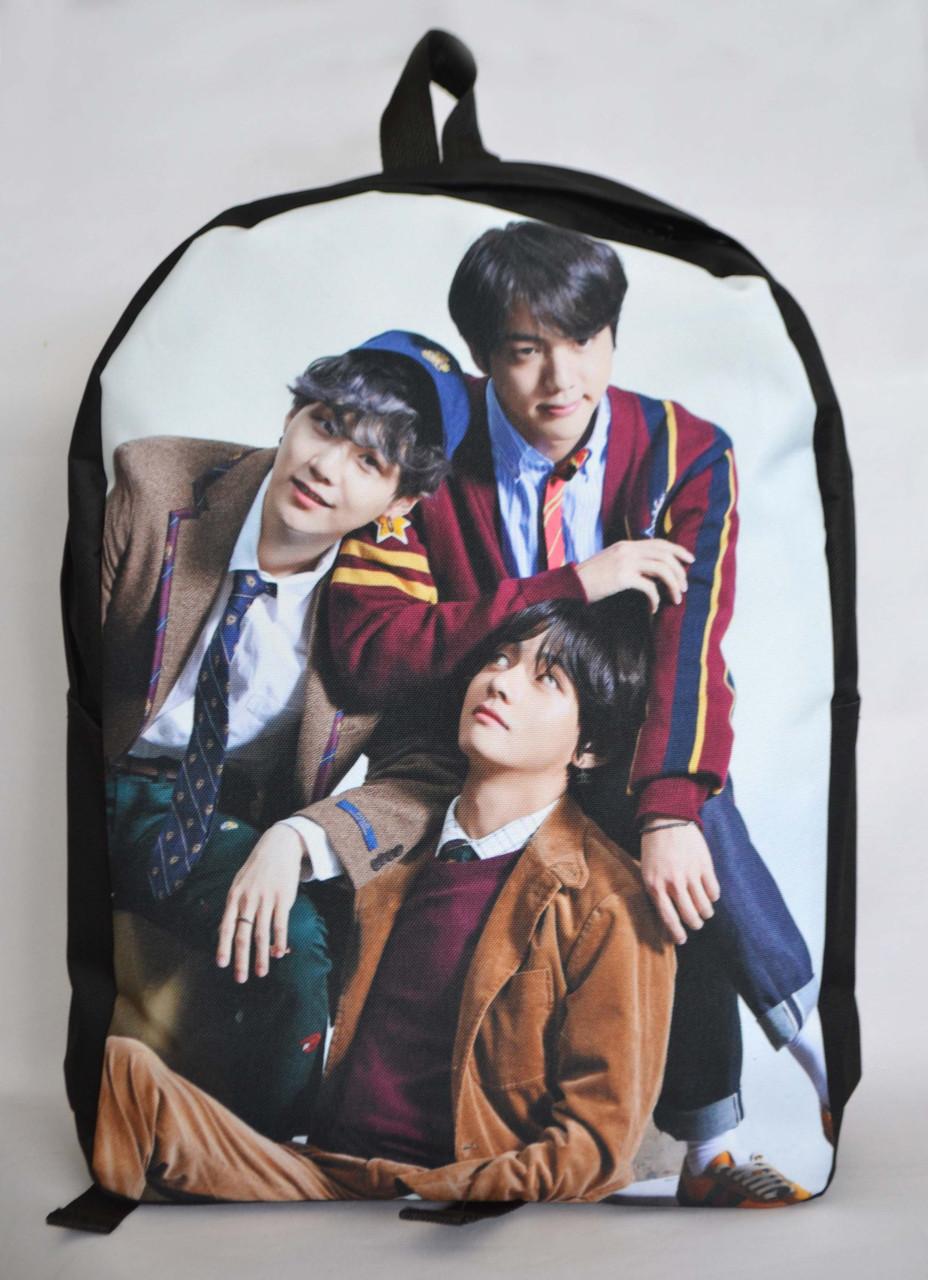 Рюкзак BTS - Jin, Suga, V