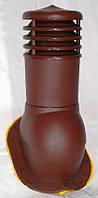 Вентвыход Kronoplast KBT-35 150мм для Профнастила Т-35 и Т-40 с колпаком, фото 1
