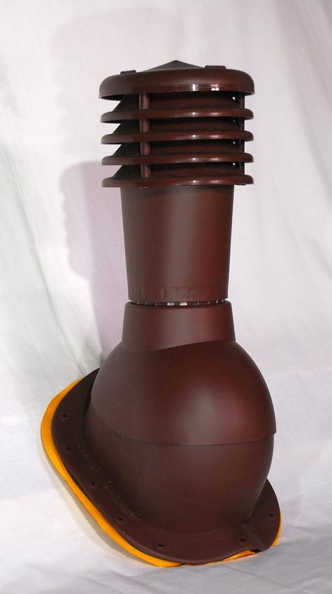 Вент выход Kronoplast KBW для металлочерепицы высокий профиль волна до 30 мм с колпаком