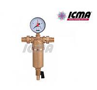 """Icma Самопромывной фильтр 1/2"""" НР №751"""