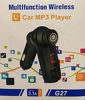 FM модулятор G27 | Автомобильный трансмиттер | FM-передатчик для авто