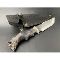 Нож охотничий Nb Art Кабан 22k14 подарочный нож для охотника рыбака в чехле в ножнах