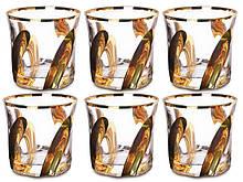 Набір склянок Some Decorazione Золотий пелюстка 6 штук 103-409