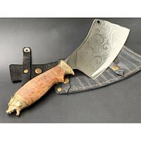 Нож-секач охотничий Nb Art Медведь 1k21 подарочный нож секач для охотника рыбака в чехле в ножнах