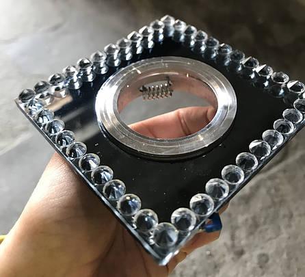 Зеркальный чёрный светильник, фото 2