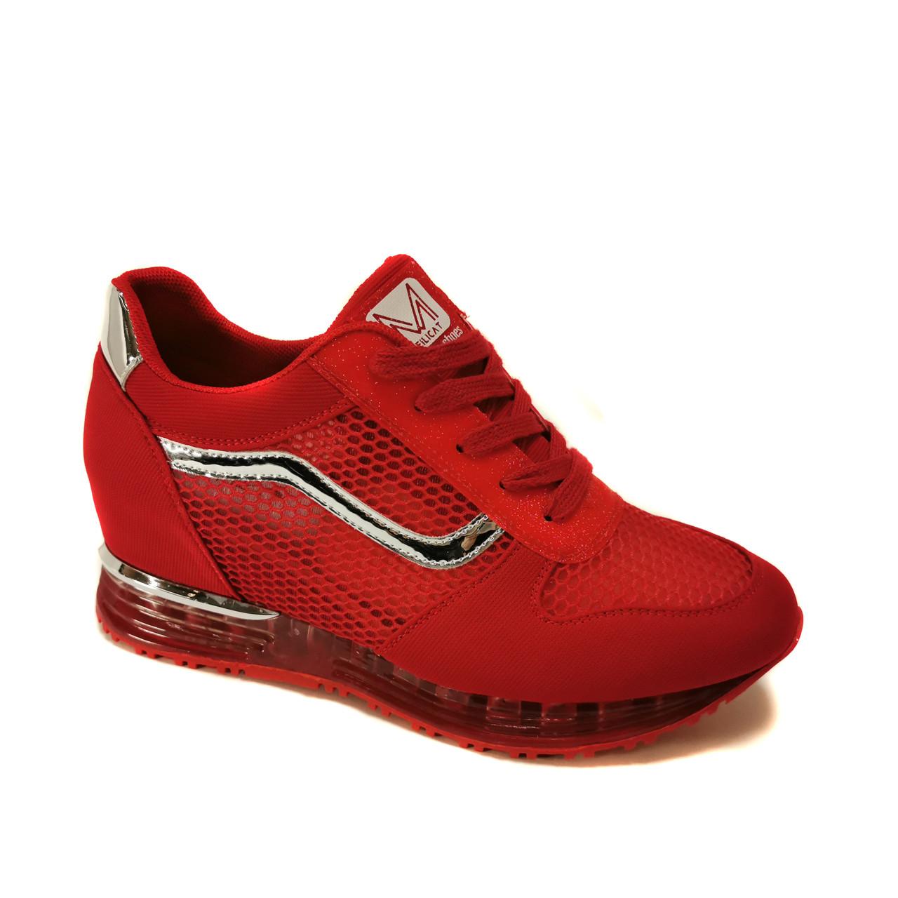 Кроссовки Lonza 810 red сетка