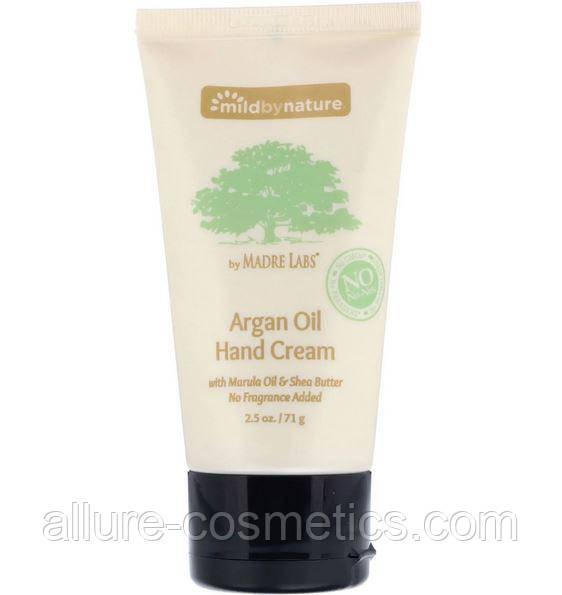 Крем для рук с аргановым маслом Mild By Nature Madre Labs 71гр