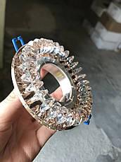 Коричневый зеркальный светильник, фото 3
