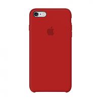 Apple Silicone Case Pink iPhone 6/6s силиконовый чехол  + защитное стекло в подарок