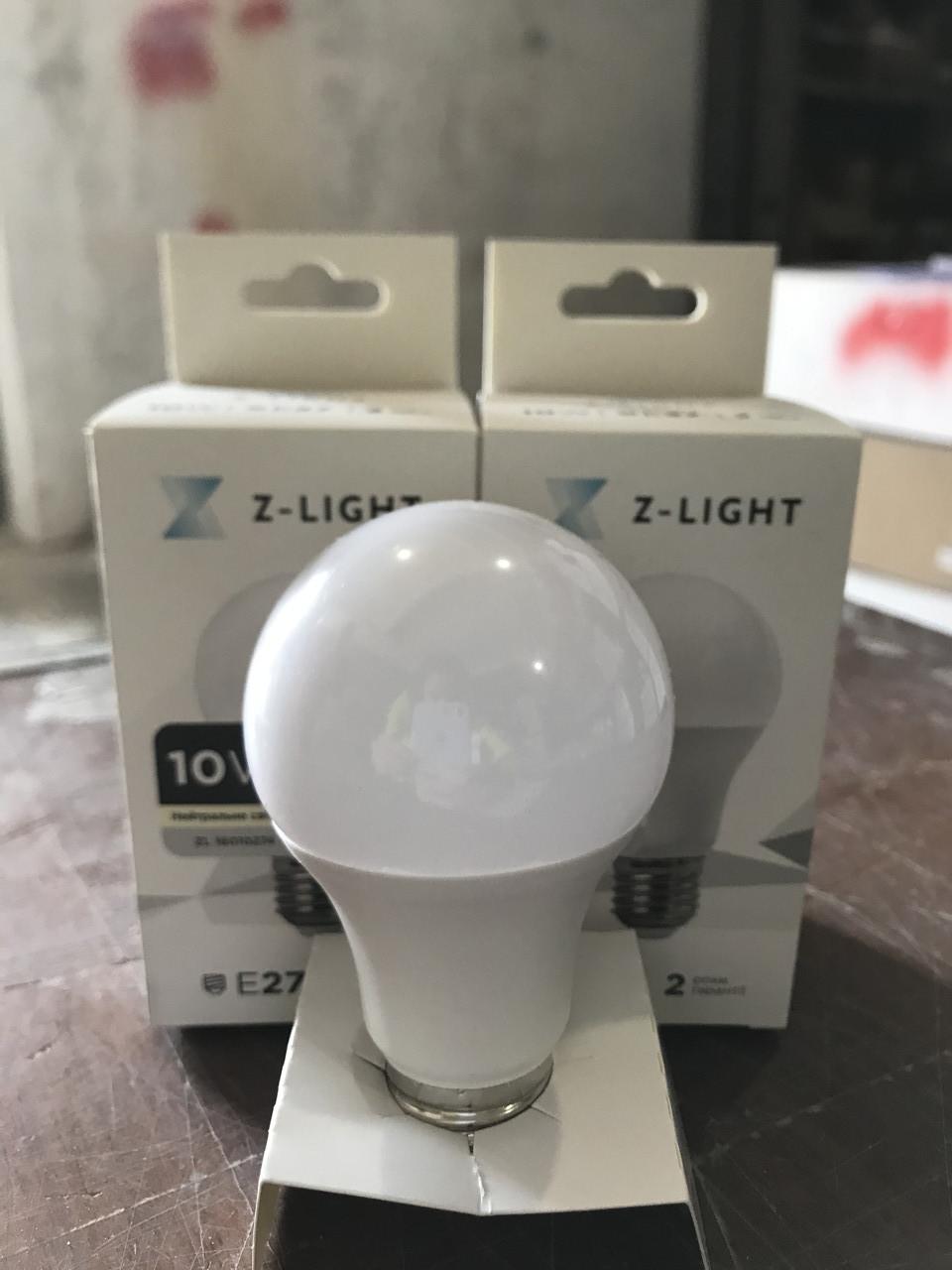 Лампочка LED 10W E27 А60 ZL