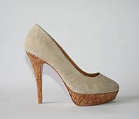 Женские туфли Alesya натуральная замша 35