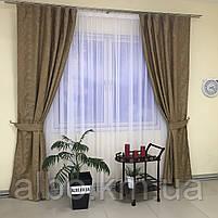 Штори з льону для будинку кімнати кухні, штори блекаут для будинку залу спальні дитячої кімнати, штори від сонця для спальні залу, фото 7