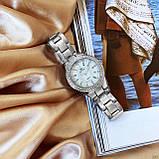 Жіночі годинники Bee Sister 1258 Silver-White Diamonds, фото 6
