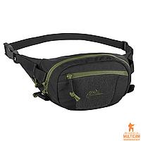 Сумка поясная Helikon-Tex® POSSUM® Waist Pack - Cordura® - Black/Olive Green