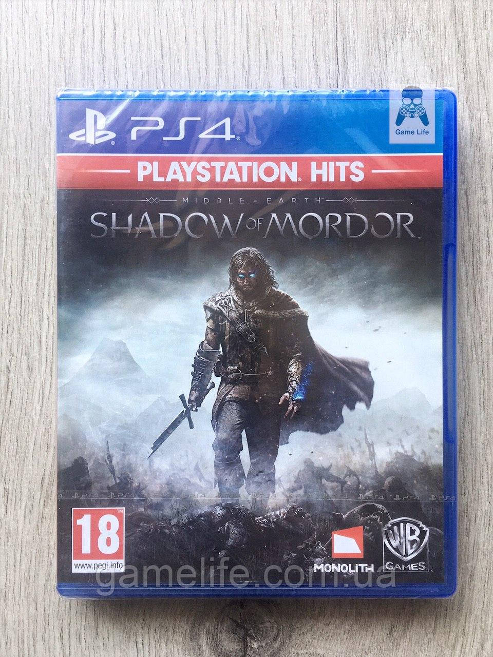 Middle-Earth Shadow of Mordor (рус. суб.) PS4