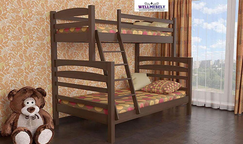 Двухъярусная кровать Кай (WELLMEBELY)