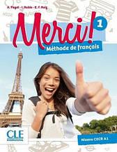 Merci! 1 Méthode de Français - Livre de l'élève avec DVD-ROM - Учебник / Cle International