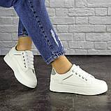 Женские белые кроссовки Blacky, фото 5