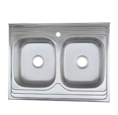 Мойка из нержавеющей стали 07мм Platinum 8060D  polish