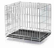Металева клітка для собак Trixie 64х54х48 см