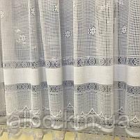 Короткие шторы из вуали для зала гостинной кухни, короткие шторы на кухню балкан окно с ламбрекеном, красивые, фото 3