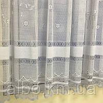 Короткие шторы из вуали для зала гостинной кухни, короткие шторы на кухню балкан окно с ламбрекеном, красивые, фото 6