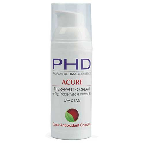 ACURE THERAPEUTIC CREAM For Oily, Irritated and Problematic Skin UVA & UVB 50 мл
