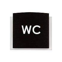 Табличка на туалет WC, фото 3