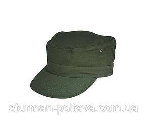 Кепка чоловіча армійська US BDU R/S OLIV колір олива бавовна 100% ріп-стоп Tessar Німеччина