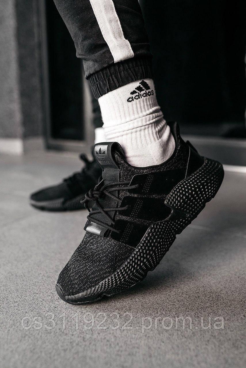 Мужские кроссовки Adidas Prophere Black (черные)