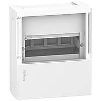 MINI PRAGMA Щит навесной с прозрачной дверкой 1ряд/4мод,IP40,IK07,50А,2 клеммы,Италия (MIP12104S)