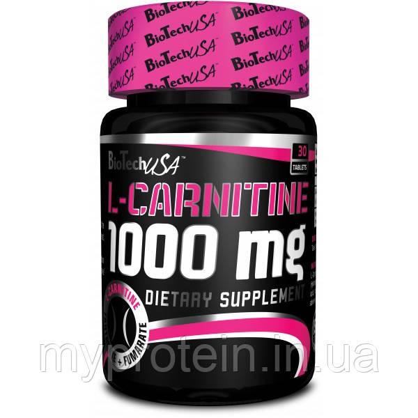 BioTech Л карнитин L-Carnitine 1000 mg (60 tab)