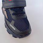 Сині легкі кросівки з наскрізною сіткою хлопчикам, р. 21, 22, 23, 24, 26. Весняні, літні, фото 7