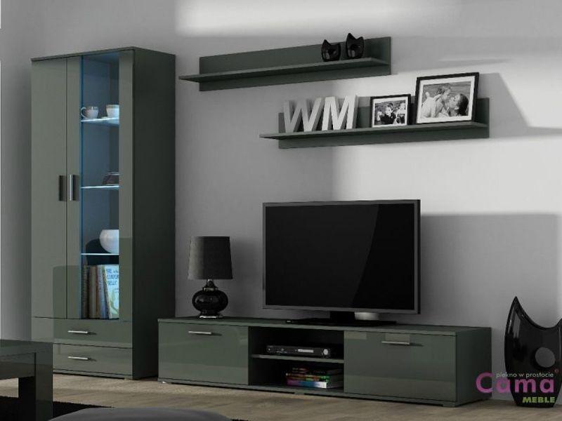 Гостиная SOHO 8 серый (модульная мебель) (Cama)