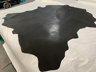 Натуральная кожа Опоек(краст) черный