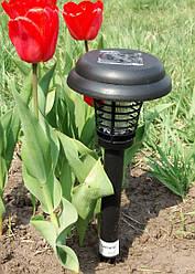Светильник газонный (садово-парковый) на солнечной батарее с выкл. от комаров Lemanso LM3408 маленький