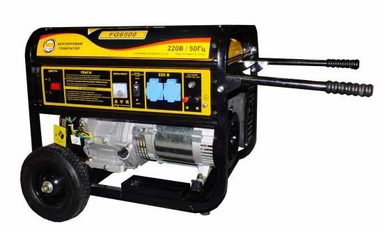 Генератор бензиновый 5.5 кВт Forte FG6500 (54400)