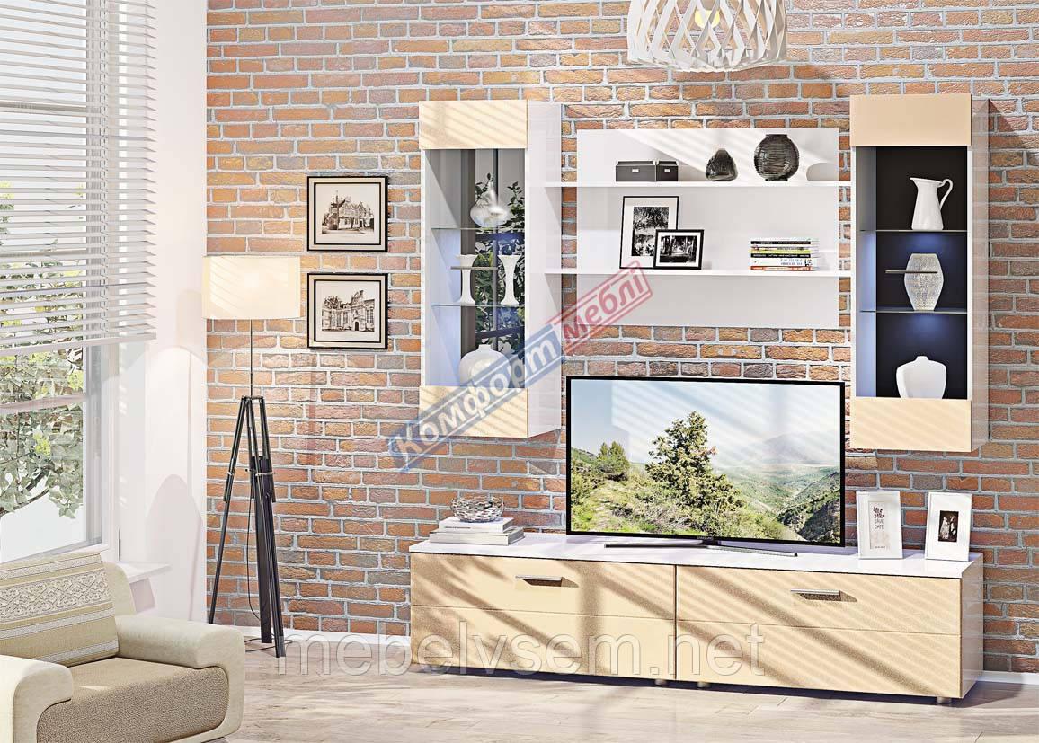 Стінка МС 4317  Комфорт мебель