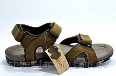 Сандалии мужские Supo Brown, кожаные, фото 2