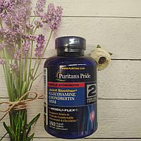 Puritan's pride Glucosamine Chondroitin and MSM Triple Strength 180 TABS, глюкозамин Хондроитин мсм