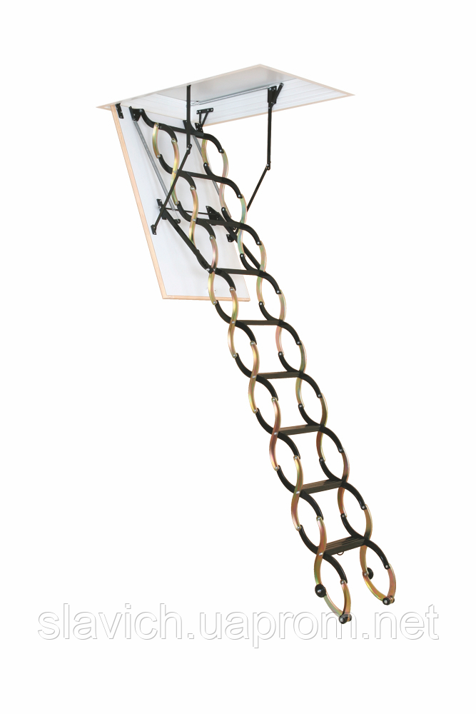 Горищні сходи Flex Termo Metal Box Oman H290 120x70